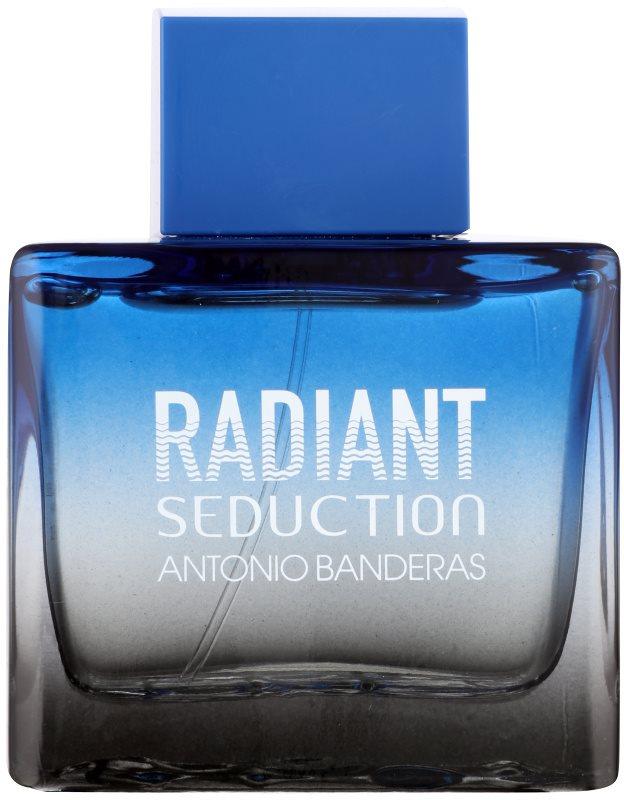 Antonio Banderas Radiant Seduction Black Eau de Toillete για άνδρες 100 μλ