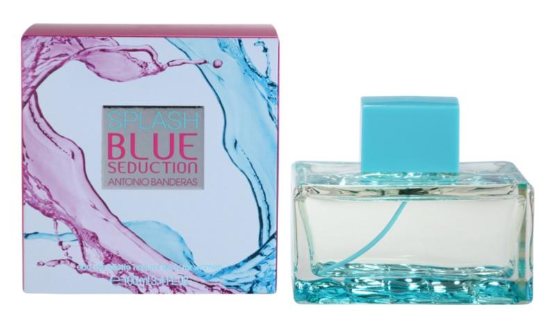 Antonio Banderas Splash Blue Seduction woda toaletowa dla kobiet 100 ml
