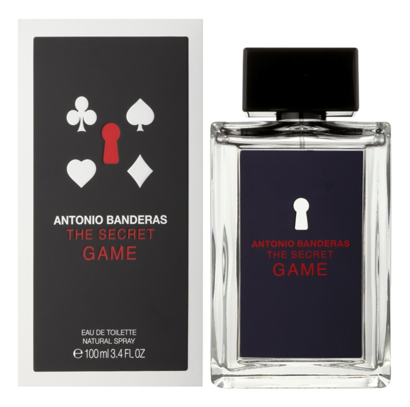 Antonio Banderas The Secret Game Eau de Toilette Für Herren 100 ml