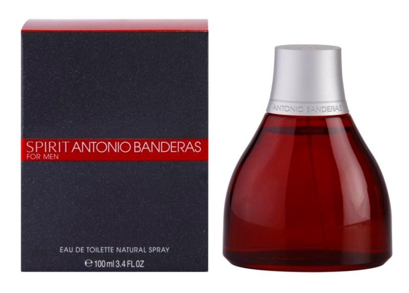 Antonio Banderas Spirit Eau de Toillete για άνδρες 100 μλ