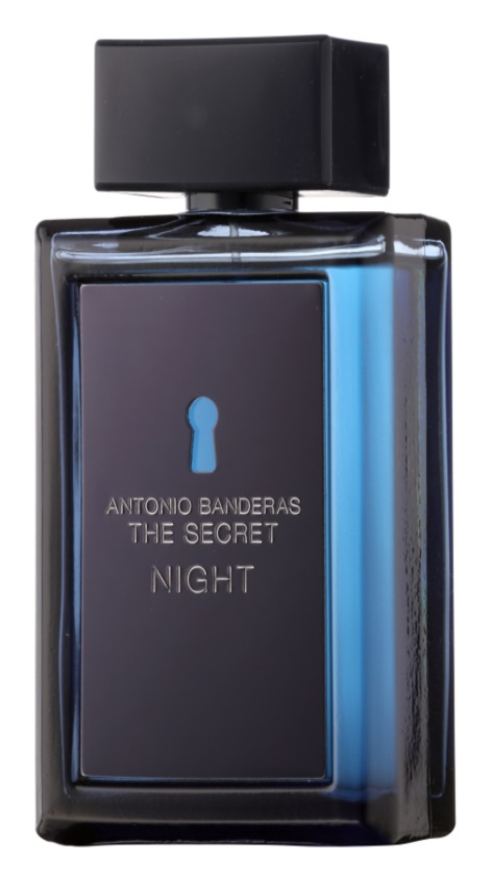 Antonio Banderas The Secret Night Eau de Toilette voor Mannen 100 ml