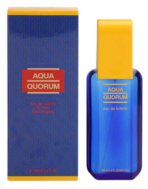 Antonio Puig Aqua Quorum Eau de Toilette für Herren 100 ml