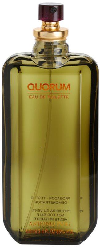 Antonio Puig Quorum toaletná voda tester pre mužov 100 ml