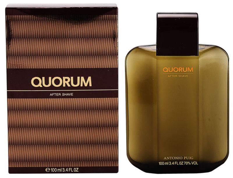 Antonio Puig Quorum lotion après-rasage pour homme 100 ml