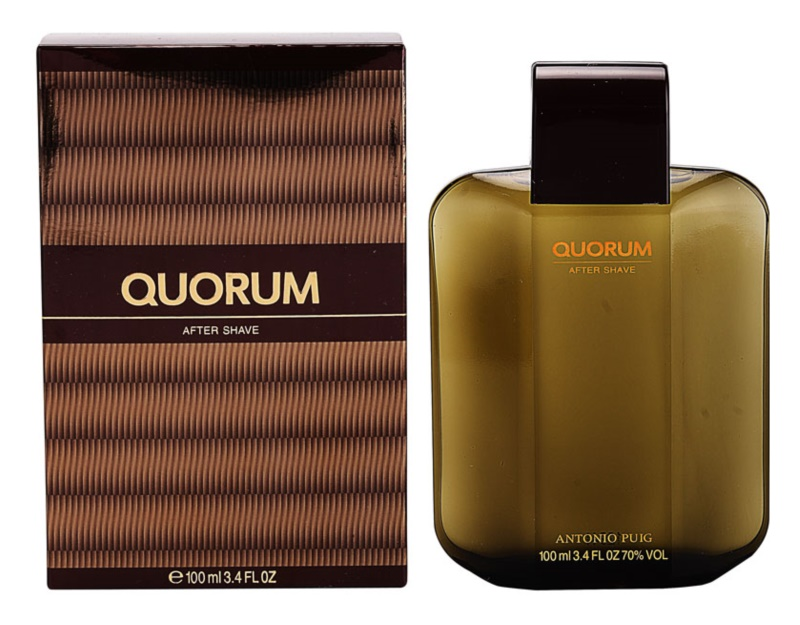 Antonio Puig Quorum lozione after shave per uomo 100 ml