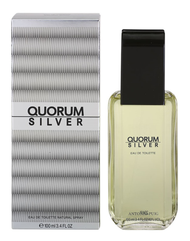 Antonio Puig Quorum Silver toaletna voda za muškarce 100 ml
