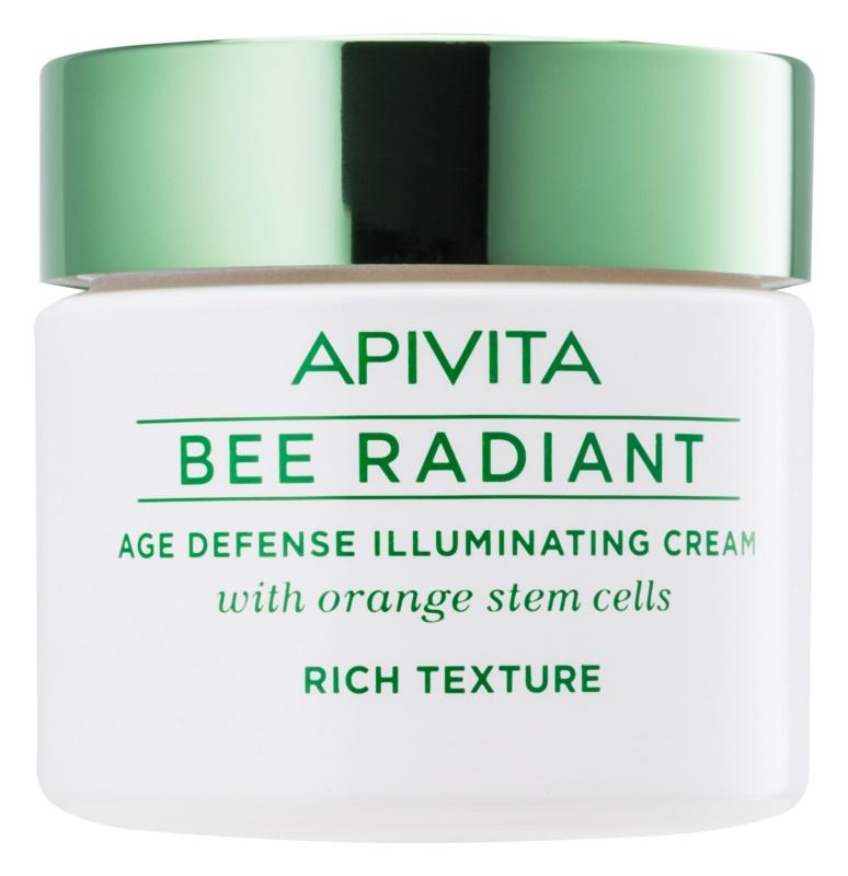 Apivita Bee Radiant Brightening Cream with Anti-Ageing Effect
