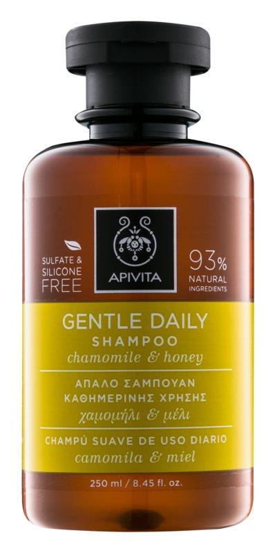 Apivita Holistic Hair Care Chamomile & Honey Sampon de curatare zi de zi.