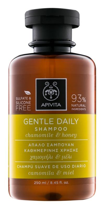 Apivita Holistic Hair Care Chamomile & Honey shampoing usage quotidien