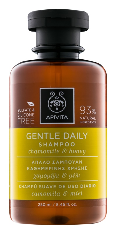 Apivita Holistic Hair Care Chamomile & Honey szampon do codziennego stosowania