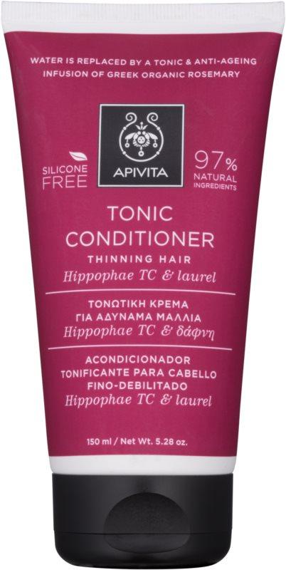 Apivita Holistic Hair Care Hippophae TC & Laurel tonizujúci kondicionér pre rednúce vlasy