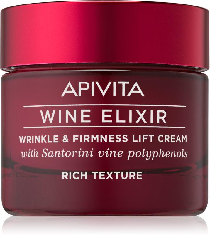 Apivita Wine Elixir Santorini Vine crema antirughe ricca effetto rassodante