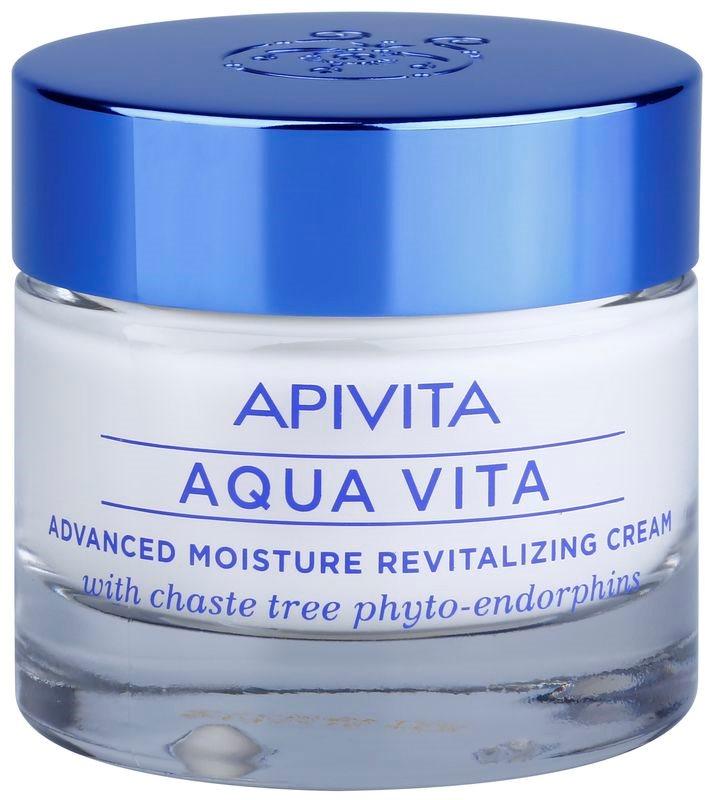 Apivita Aqua Vita crema hidratanata si revitalizanta intensiva pentru piele normala si uscata
