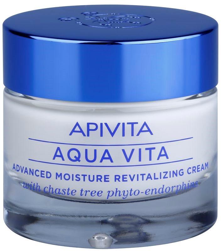 Apivita Aqua Vita intensive feuchtigkeitsspendende und revitalisierende Creme für fettige und Mischhaut