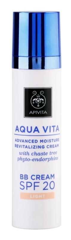 Apivita Aqua Vita BB crème hydratante et revitalisante SPF 20