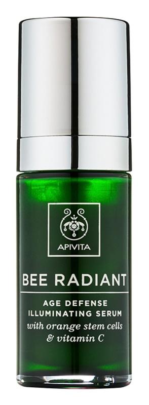 Apivita Bee Radiant Verjüngendes und aufhellendes Gesichtsserum
