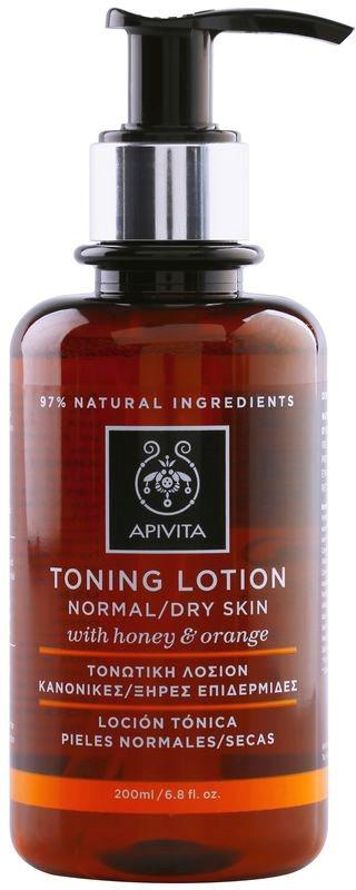 Apivita Cleansing Honey & Orange tónico para pieles normales y secas