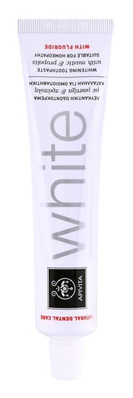Apivita Natural Dental Care White pasta za izbjeljivanje zuba