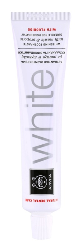 Apivita Natural Dental Care White Whitening Toothpaste