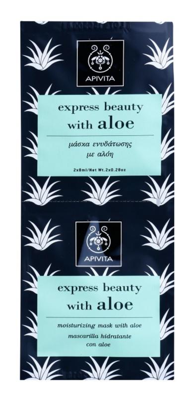 Apivita Express Beauty Aloe hidratáló arcmaszk