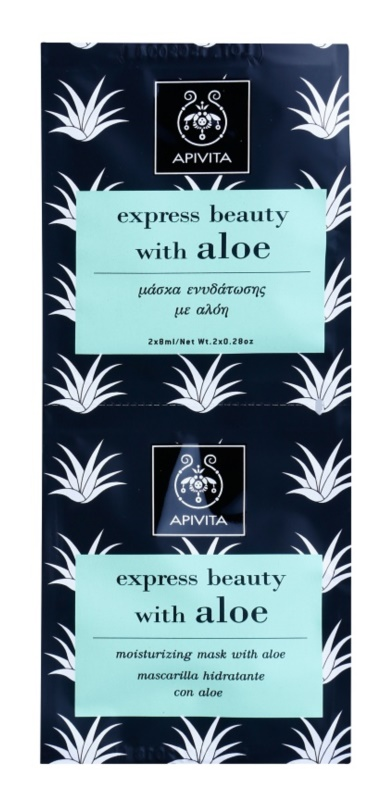 Apivita Express Beauty Aloe Moisturizing Face Mask