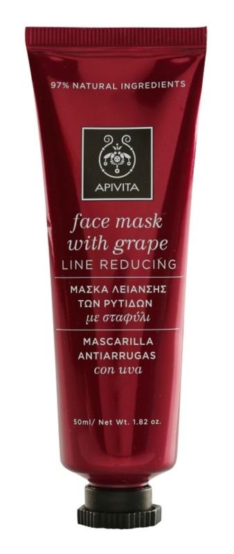Apivita Express Beauty Grape Anti-Rimpel en Verstevigende Gezichtsmasker