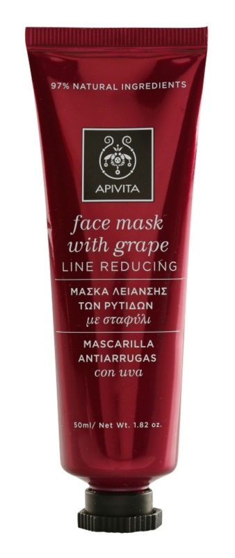 Apivita Express Beauty Grape maska protiv bora za učvršćivanje lica