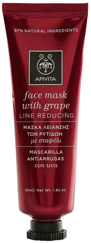 Apivita Express Beauty Grape protivrásková a spevňujúca maska na tvár
