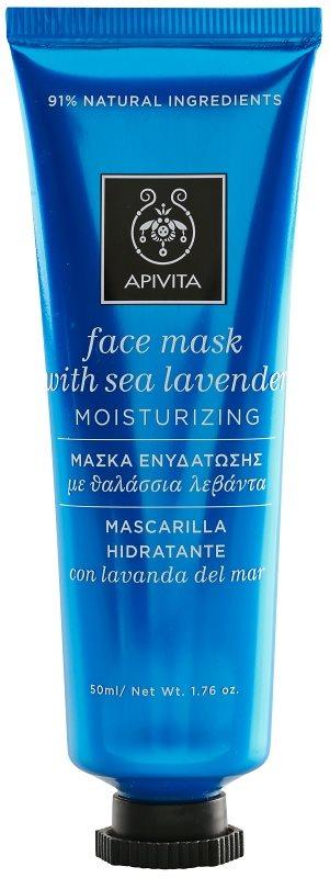 Apivita Express Beauty Sea Lavender feuchtigkeitsspendende Antioxidans-Gesichtsmaske