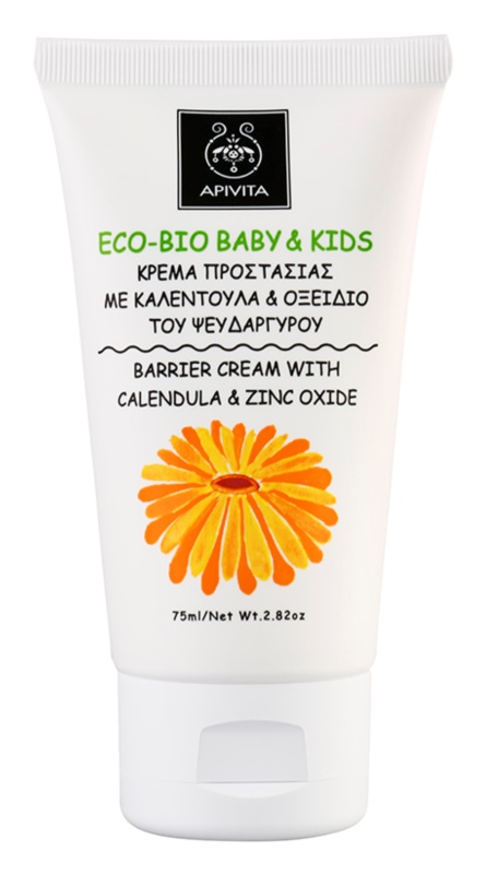 Apivita Eco-Bio Baby & Kids pomirjajoča otroška krema proti vnetju ritke