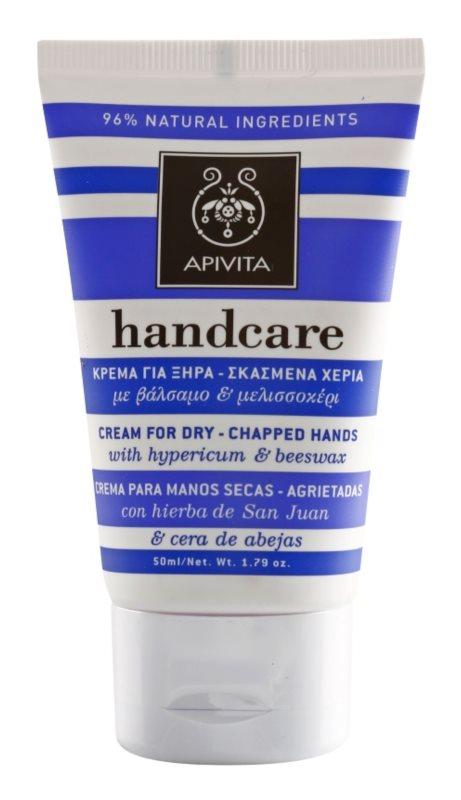 Apivita Hand Care Hypericum & Beeswax Krem do cery suchej i spierzchnięte dłonie