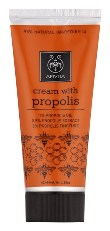 Apivita Herbal Propolis Antiseptic Cream for Small Injuries With Antibacterial Ingredients