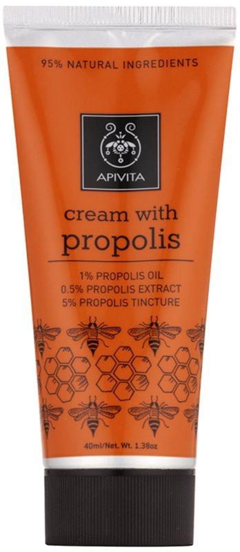 Apivita Herbal Propolis creme regenerador   para tratamento local