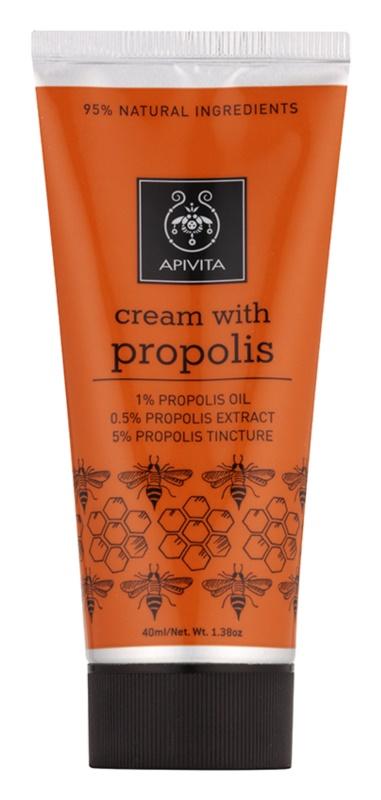 Apivita Herbal Propolis антисептичен крем за дребни наранявания с антибактериална добавка