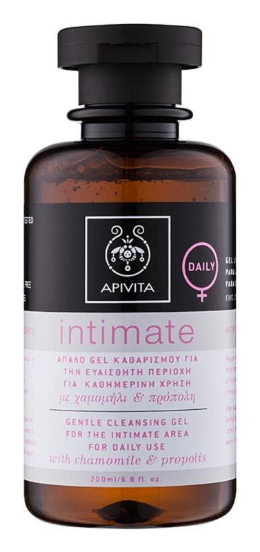 Apivita Intimate gel pentru igiena intima pentru utilizarea de zi cu zi