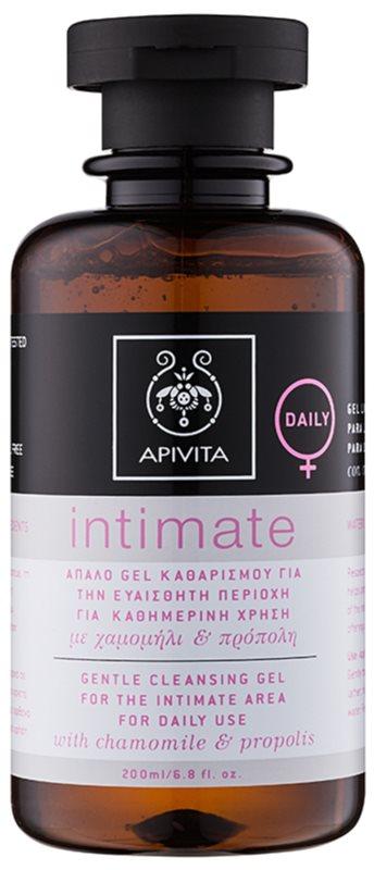 Apivita Intimate gel per l'igiene intima per uso quotidiano