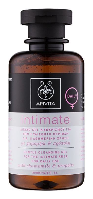 Apivita Intimate Intimate hygiene gel For Everyday Use
