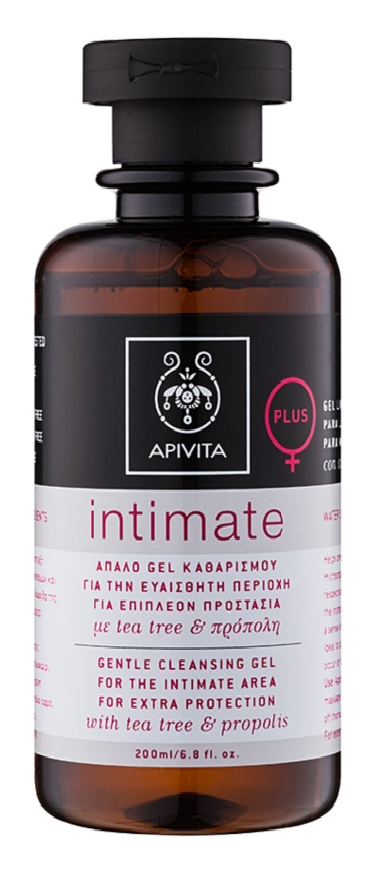 Apivita Intimate нежен гел за интимна хигиена