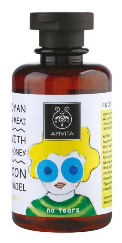 Apivita Kids Chamomile & Honey zklidňující šampon pro děti