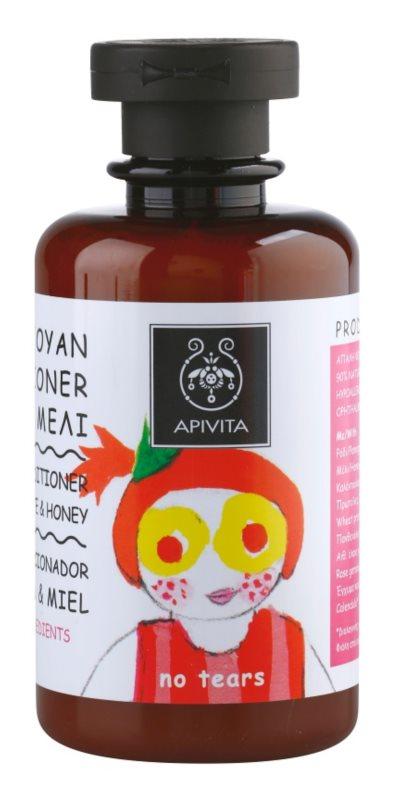 Apivita Kids Pomegranate & Honey šampon i regenerator 2 u 1  za djecu