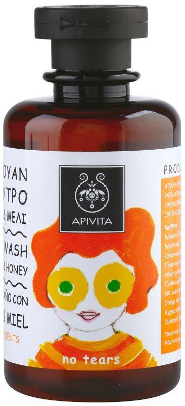 Apivita Kids Tangerine & Honey шампоан и душ гел 2 в 1 за деца
