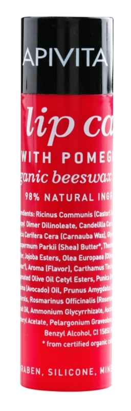 Apivita Lip Care Pomegranate baume à lèvres nourrissant