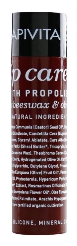 Apivita Lip Care Propolis baume pour lèvres sèches et gercées