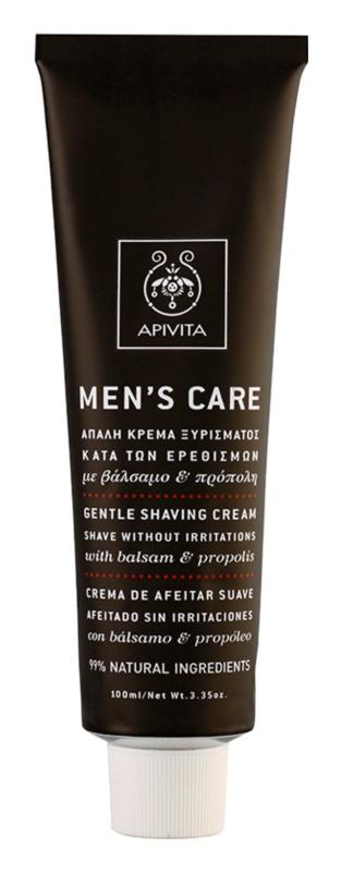 Apivita Men's Care Balsam & Propolis jemný krém na holení
