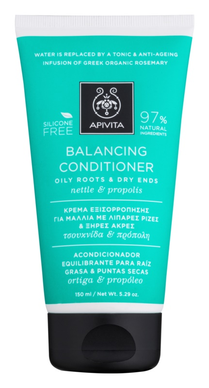 Apivita Holistic Hair Care Nettle & Propolis vyživujúci kondicionér pre suché vlasy