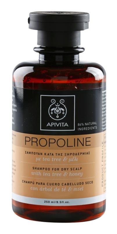 Apivita Holistic Hair Care Tea Tree & Honey šampón pre suchú pokožku hlavy so sklonom k svrbeniu