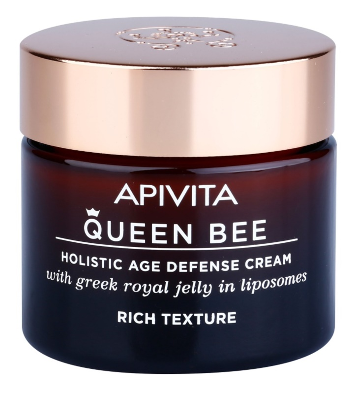 Apivita Queen Bee Holistic Age Defense Cream Rich Texture