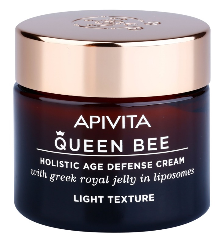 Apivita Queen Bee Holistic Age Defense Cream Light Texture