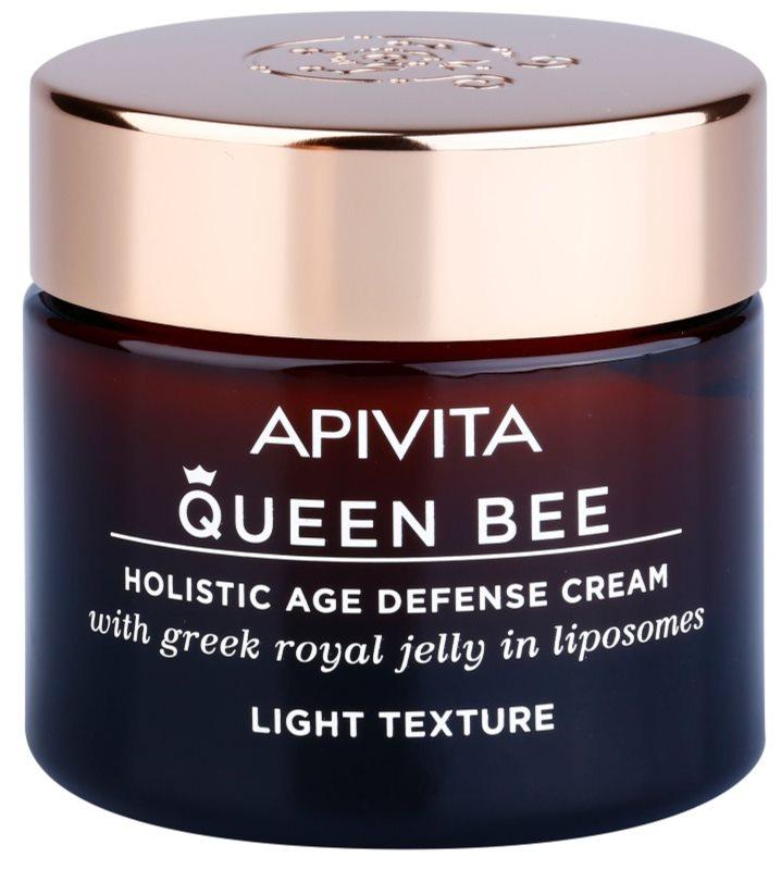 Apivita Queen Bee легкий крем проти старіння шкіри