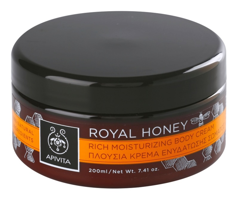 Apivita Royal Honey hidratáló testkrém esszenciális olajokkal